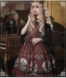 Eieyomi -The Altar of Moon Spirit- Classic Vintage Lolita JSK Jumper Dress
