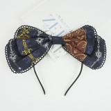 Eieyomi -Poker City- Classic Vintage Lolita Headbow