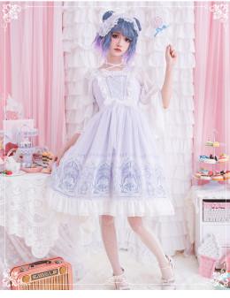 Eieyomi -The Sky Space- Sweet Lolita JSK Jumper Dress