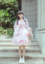 Hanweika -Miss Whale- Qi Lolita OP One Piece Dress