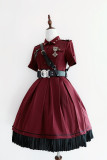 YourHighness -The Oath of Judge- Ouji Lolita Military OP One Piece Dress