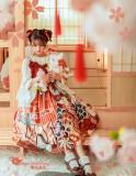 Magic Tea Party -Crane Gratitude- Classic Lolita Headbow and Hairclips