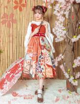 Magic Tea Party -Crane Gratitude- Classic Lolita JSK Jumper Skirt