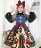 Brocade Garden -Circus Rabbit- Sweet Lolita JSK Jumper Dress