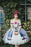 Yueqin -Forest Words- Off Shoulder Classic Lolita Dress