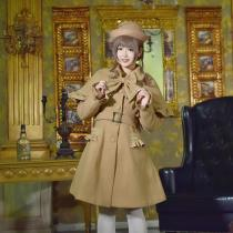 Ailin -Christmas Knight- Classic Lolita Long Coats