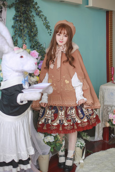 Milu Forest -Poker- Sweet Lolita Cape