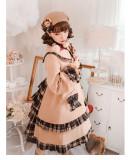 Sweetsheep -Chocolate- Wool Sweet Lolita Long Coat