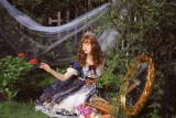 Mengyu -Snow White- Short Sleeve Sweet Lolita OP One Piece Dress
