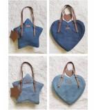 Whale Fall - Sweet Heart Shaped and Star Shaped Lolita Shoulder Bag