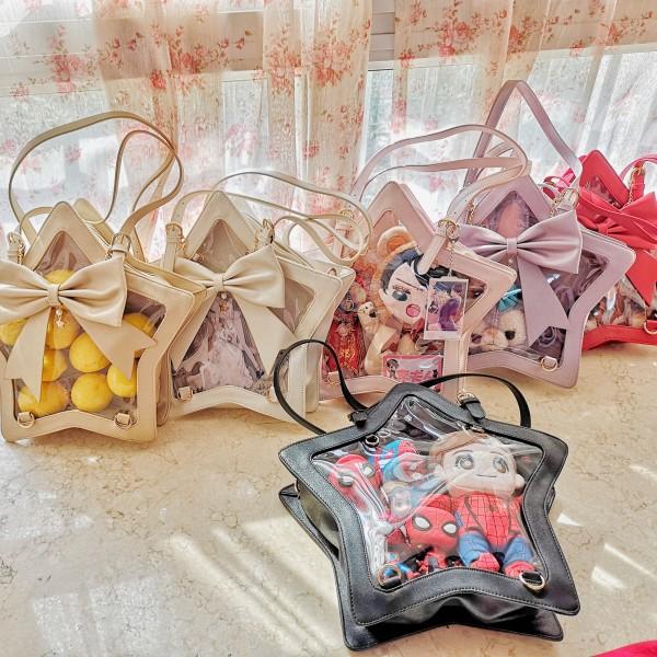 Whale Fall - Sweet Star Shaped Lolita Shoulder Bag(Backpack Avaliable)