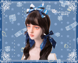 Magic Tea Party -Summer of Bear- Sweet Lolita Accessories(Headbow, Hairclip)