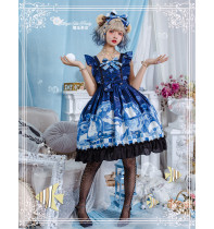 Magic Tea Party -Summer of Bear- Sweet Lolita JSK Jumper Dress