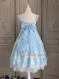 Alice Girl -Daughter of Sea- High Waist Sweet Lolita JSK Jumper Skirt Dress