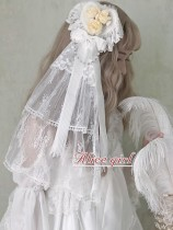 Alice Girl -Daughter of Sea- Sweet Lolita Flower Hairclip