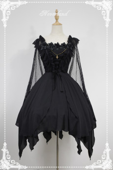 Neverland -Undead ballet- Halloween Gothic JSK Jumper Skirt Dress