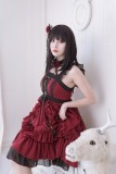 Neverland -Blood Memoir- Halloween Gothic Lolita JSK Jumper Skirt Dress