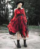 Rave -Halloween Gothic Punk Lolita OP One Piece Dress