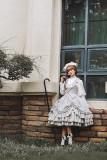 Doris Night -Classic College Lolita JSK Jumper Skirt Dress