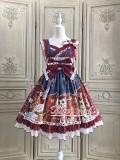 Alice Girl -Fortune Cat- Wa Lolita JSK Jumper Skirt Dress