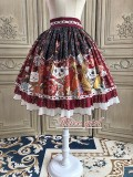 Alice Girl -Fortune Cat- Lolita Skirt