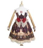 Mita -Meow Charm- Qi Lolita JSK Jumper Skirt Dress