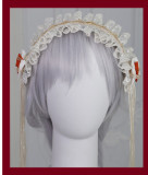 Mita -Meow Charm- Sweet Lolita Headband and Necklace