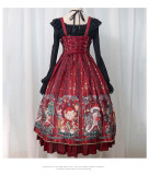 Christmas Theme Lolita JSK Jumper Skirt