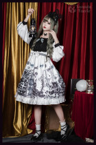 Xanadu Faerie -Horror Parade- Casual Halloween Lolita OP One Piece Dress
