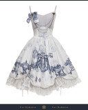 Cat Romance -Classic Lolita JSK Jumper Skirt Dress