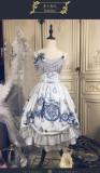 Cat Romance -Classic Lolita JSK Jumper Skirt Dress