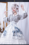 Cat Romance -Classic Lolita OP One Piece Dress