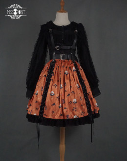 Miss Point -Halloween Gothic Punk Lolita Skirt