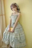 Little Dipper -Charming Fragrance- Classic Lolita Jumper Skirt Dress(Pure Color Version)