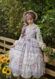 Little Dipper -Charming Fragrance- Classic Lolita Jumper Skirt Dress (Printing Version)