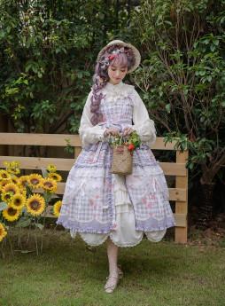Little Dipper -Charming Fragrance- Classic Lolita Jumper Skirt Dress (Printing Version)