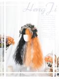 Hengji - Halloween Theme Black and Orange Lolita Wig