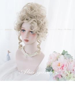 Alice Garden - Curly Wavy Blond Lolita Tea Party Wig