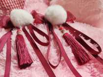 Sweet Cake -Calyx Canthus in the Snow- Qi Lolita Hairclip