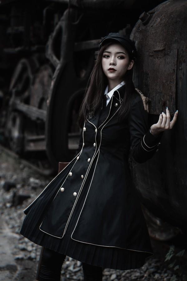 YourHighness -The Dark Knight- Military Lolita Hat