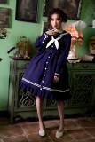 ANNA -Aanna's Dresses- Sailor High Waist Lolita One Piece Dress