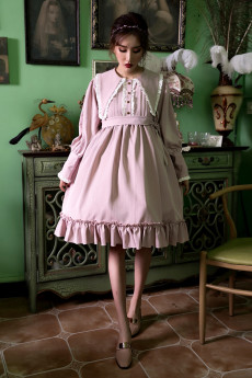 ANNA -Aanna's Dresses- Casual High Waist Lolita One Piece Dress