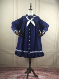 ANNA -Aanna's Dresses- Sailor High Waist Lolita One Piece Dress