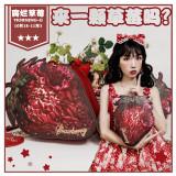 Morning Glory -Decay of Strawberry- Lolita Bag