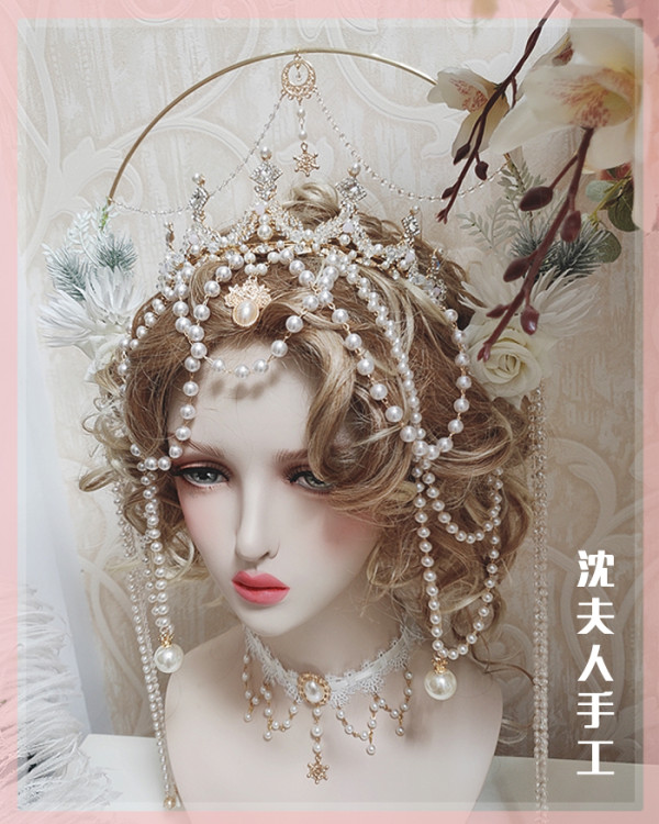 SL - Lolita Crown Headdress and Necklace