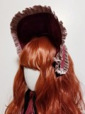 Night and Star Song Lolita Bonnet and Headband