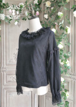 Miss Point -Mrs Jennifer- Vintage Classic Lolita Blouse(2 Version)