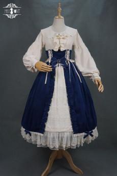 Miss Point -Mrs Jennifer- Vintage Classic Lolita High Waist Skirt
