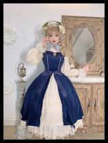 Miss Point -Mrs Jennifer- Vintage Classic Lolita JSK for Autumn and Winter