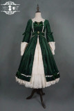 Miss Point -Mrs Jennifer- Vintage Classic Lolita One Piece Dress for Autumn and Winter